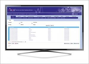 Gas meter data management software GMDM