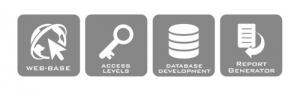 Web-Based, Access Levels, Database Development, Report Generator