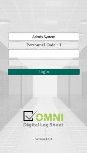 Digital Log Sheet Android application